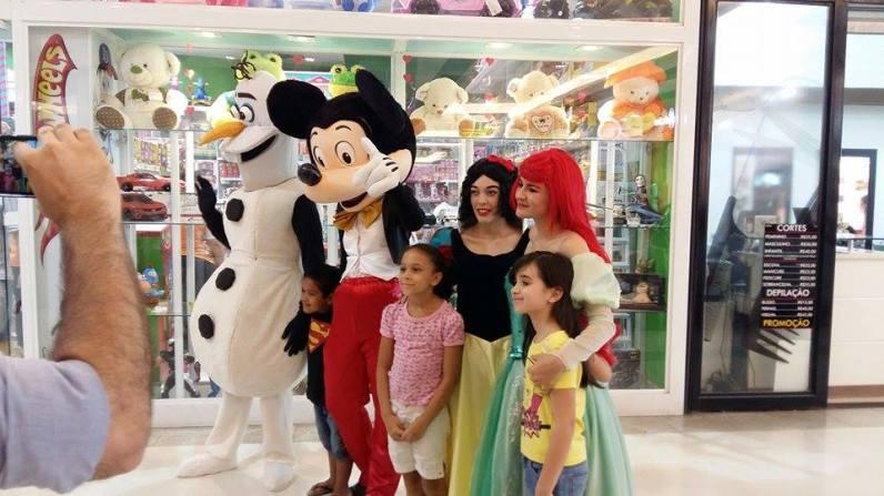 Feira de descoraçãoe festas infantis- Shopping Hortolândia/sp 10/12
